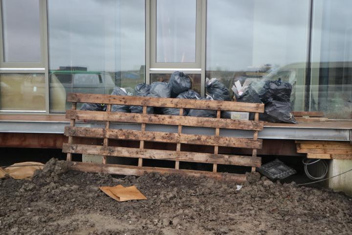Storm, wind en (bouw)afval opruimen