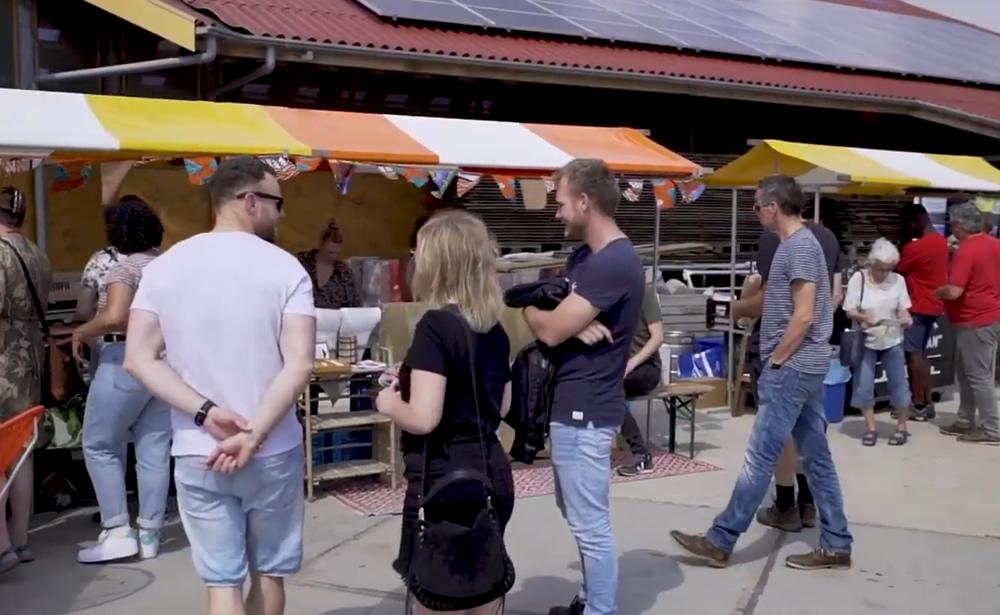 Massaal genieten op Oosterwold Ontkiemt 2019