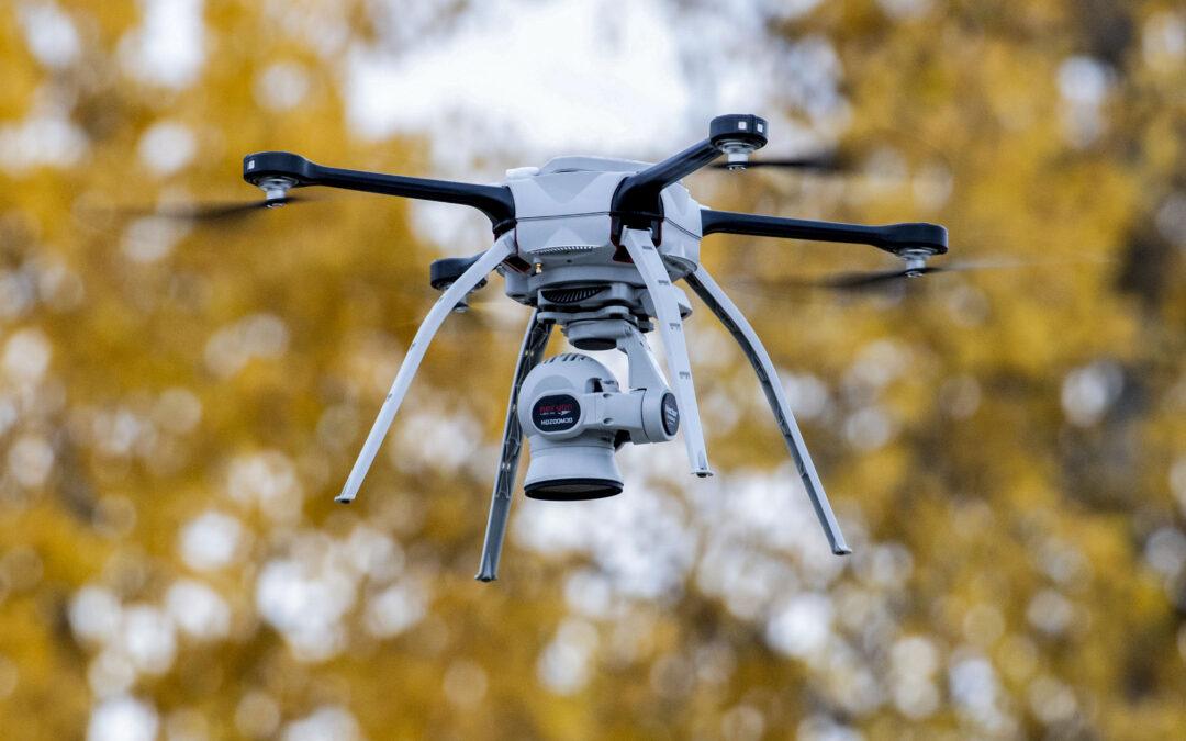 Drone-opnames Oosterwold