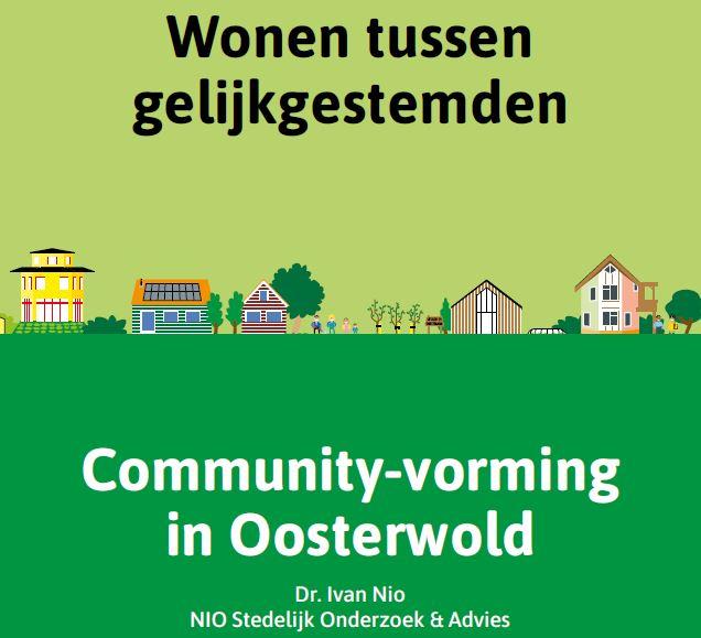 Onderzoek naar community-vorming Oosterwold