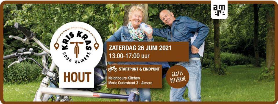 Kriskras door Almere Hout 2021